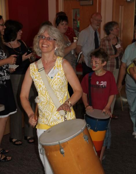 Colleen drumming 2011